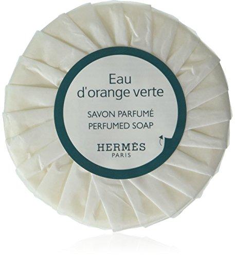 Hermes eau d Orange Verte Pleated 50 gram soaps – Set of 6