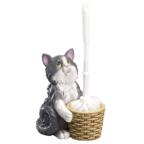 Colorful Kitten Toilet Holder OakRidgeTM