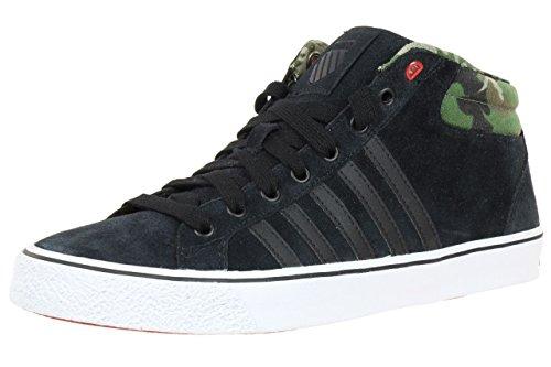 K-Swiss Adcourt LA MID SDE VNZ Sneaker Men´s 03129092 black Schwarz