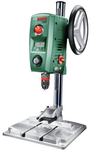 Bosch Bench Drill PBD 40 (parallel guide, quick-lock clamps, cardboard box,...