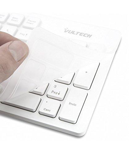 VULTECH Teclado Kit Ratón + Teclado Kit Inalámbrico Y Ratón Blanco 1600Dpi Informática: Amazon.es: Electrónica