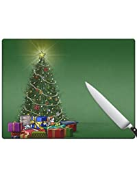 Favor A Very Merry Christmas v136 Large Cutting Board opportunity
