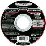 Flexovit F1207 4-1/2 X .045 X 7/8 A60Ss Cut-Off Wheel Type 1 (25 Pack) by Flexovit