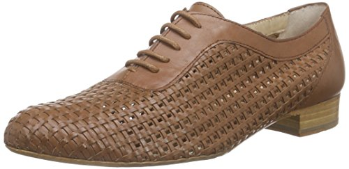 Lottusse S8599-10194-01 - Zapatos de cordones oxford Mujer Beige - Beige (SUMMER BRIGHT CUERO)