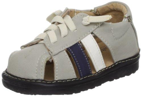 Little Blue Lamb Squeaky Schuhe Halbschuhe Sandalen Gummizug grau Grau