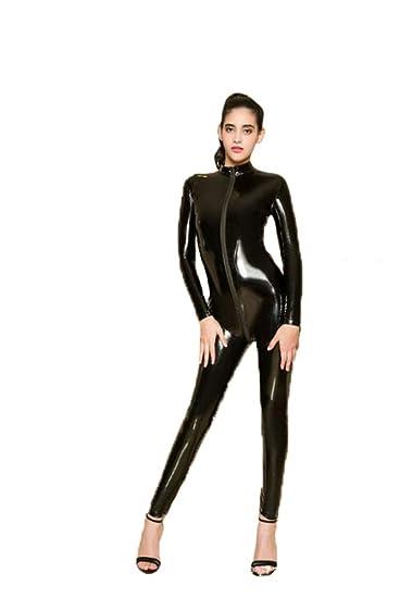 Amazon.com: GYH - Traje de mujer sexy con aspecto mojado de ...