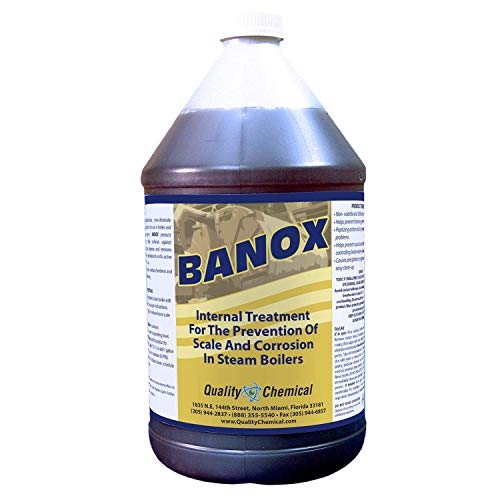(Banox Boiler Treatment - A non-phosphate, non-chromate corrosion and scale inhibitor for use in boiler water.-5 gallon pail)