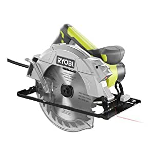 "Ryobi 14 Amp 7-1/4"" Adjustable Electric Circular Saw w/Exactline Laser 