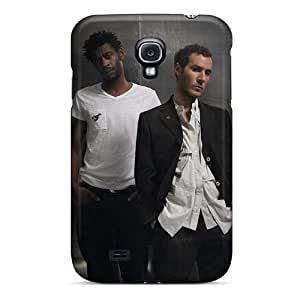 Bumper Cell-phone Hard Covers For Samsung Galaxy S4 With Support Your Personal Customized High Resolution Massive Attack Band Image EricHowe