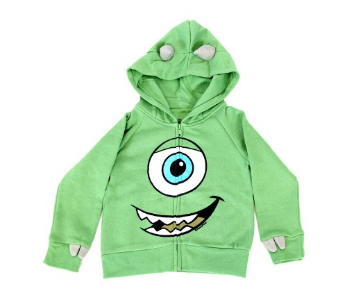 Little Boys' I Am Mike Wazowski Costume Hoodie 3T (Mike Monsters Inc Costume)