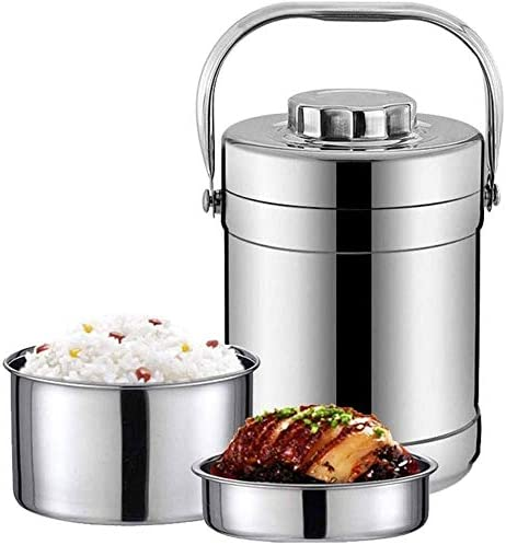 CZHONXIN-BDANGHE べんとう箱, ステンレス断熱フードジャー漏れ防止設計、キッズスクールピクニックオフィスアウトドア用ランチボックス魔法瓶食品保存容器魔法瓶は、外出先でホットランチを楽しみます。(サイズ:2.0L) (Size : 2.2L)