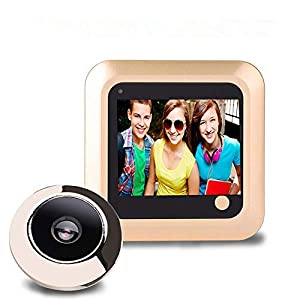 Garsent Digital Door Viewer 2.4 Inch Lcd with Photo Storage 145 Degree Lens View Support TF Card Electronic Door Viewer…