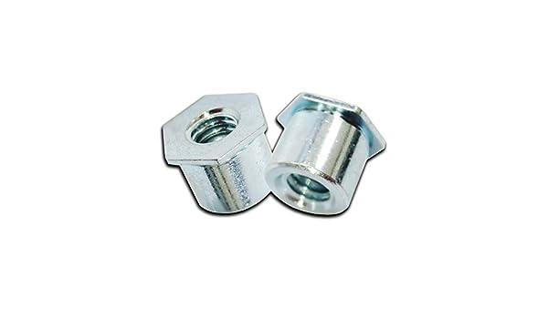 Steel Self Clinching Standoff #10-32 // 0.28X0.375 Through L 100pcs