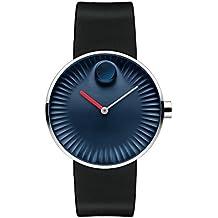 Movado Edge Blue Aluminum Dial Swiss Quartz Men's Watch 3680004