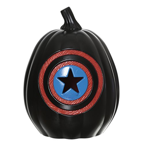 Marvel Captain America Light Up Pumpkin