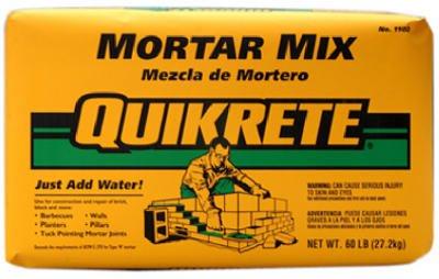 SAKRETE OF NORTH AMERICA 110280 80 lb Mortar Mix