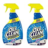 OxiClean Carpet & Area Rug Stain Remover Spray, 24 Ounce 2 Pack