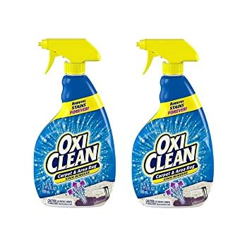 Oxiclean Carpet Area Rug Stain Remover Spray 24 Ounce 2 Pack