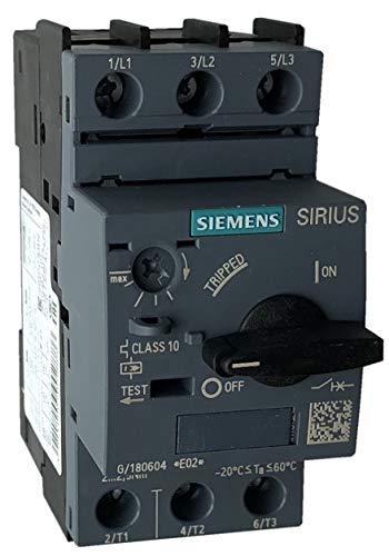 (SIEMENS 3RV2021-0KA10 Manual Motor Starter, 1.25 Rated Amps, 0.9-1.25 Amps Range)