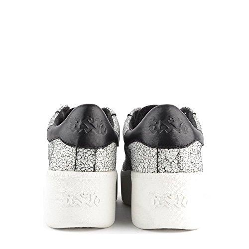 Ash Cult Zapatillas Negro y Blanco Mujer Negro/Blanco