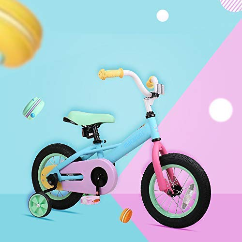 cf597c1e401 JOYSTAR 14 Inch Kids Bike for 3 4 5 Years Girls