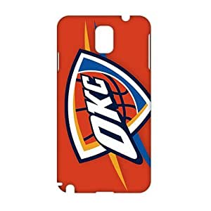 Angl 3D Case Cover Oklahoma City Thunder Logos Phone Case for Samsung Galaxy Note3