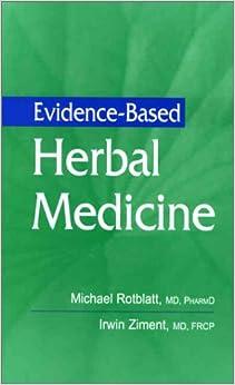 Evidence-Based Herbal Medicine