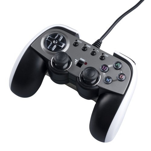 PS3 Analog Controller White by Cyber Gadget