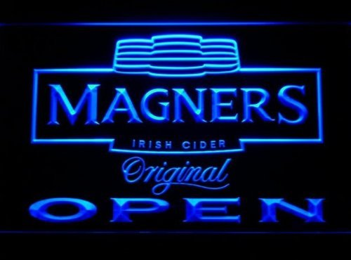 Magners Irish Cider Open Bar Neon Light Sign