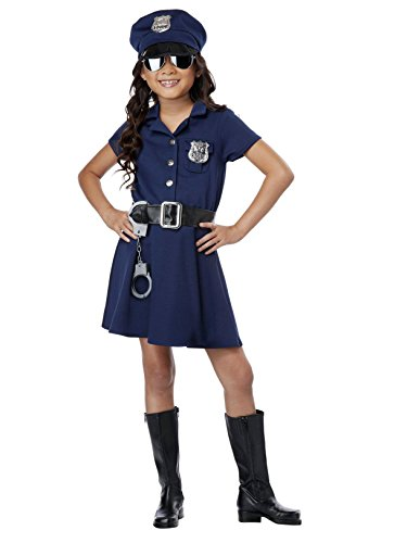 Tween Costumes Boy (California Costumes Police Officer Child Costume,)