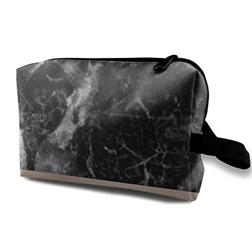 Lofout Monaco Marble Cosmetic Bags Small Makeup Clutch Pouch Cosmetic and Toiletries Organizer Bag Women Makeup Travel Storage 10 X 6.3 X 5 Inch