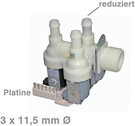 Válvula magnético Válvula de 3 Compartimento 90 ° 11,5 mmØ 4035200 ...