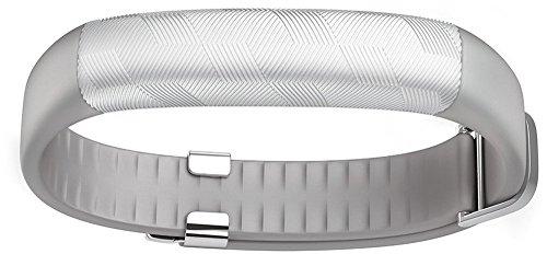 Jawbone 310004-002 UP2 Aktivitäts-/Schlaftracker-Armband silber