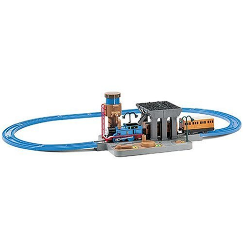 Thomas & Friends - Water & Coal Station Train Set (Realistic Working Water Spout & Coal Dispenser) (Coal Station)