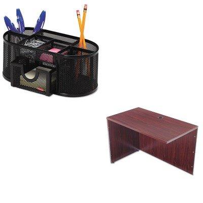KITBSXBL2146NNROL1746466 - Value Kit - Basyx BL Series Return Shell (BSXBL2146NN) and Rolodex Mesh Pencil Cup Organizer (ROL1746466) by Basyx