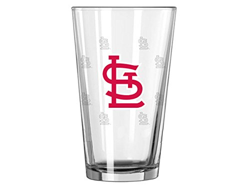 (Boelter MLB Color Changing Pint Glass, St. Louis Cardinals, 16 Ounces)