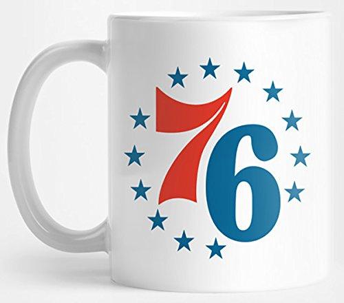 Spirit of 76ers (blue stars) Mug