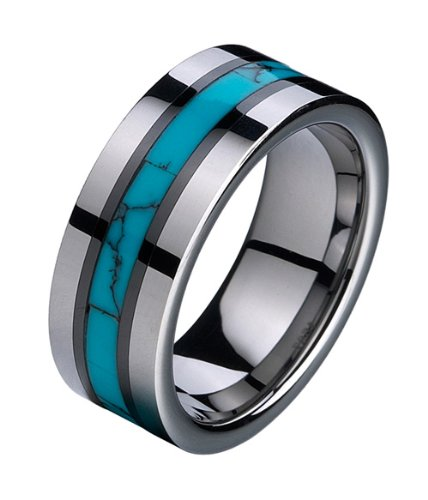 tungsten-carbide-clearance-light-fashion-ring-with-turquoise-texture-inlay-7-13