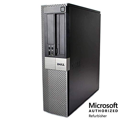 Dell Optiplex 980 Custom Desktop PC, Intel Core i5 3.2 GHz, Up to 16 GB RAM, Up to 2 TB HDD, SSD, Monitor, Keyboard & Mouse, WiFi, BT, DVD, Windows 10, (Upgrades Available) (Certified Refurbished)