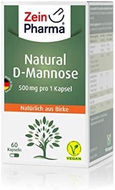 ZeinPharma Germany D-Mannose Kapseln, 1er Pack (1 x 37 g)
