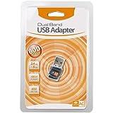 Adaptador Wi-Fi Dual Band 2.4GHz / 5GHz 600Mbps USB