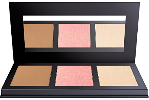Aesthetica JetSetter Palette - All in One Highlighter, Blush and Contour Kit - Fair to Medium Skin Tones by Aesthetica (Image #8)