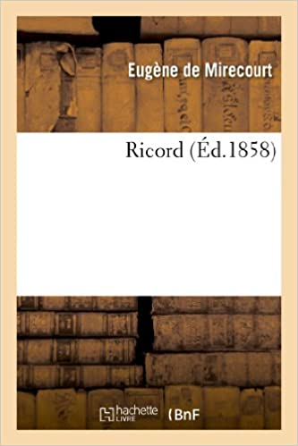 Ricord pdf, epub ebook
