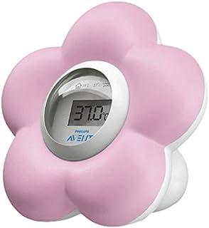 Philips Avent SCH550/21 - Termómetro para habitación y baño, color rosa