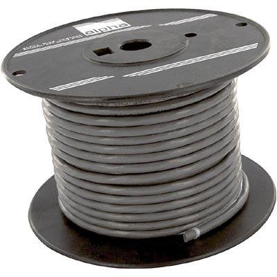 Multiconductor Unshielded Cable, Chrome, 5 Conductor, 22 AWG, 100 ft, 30.48 m