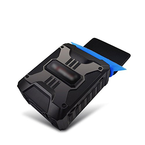 Laptop Cooler, Bomwill Portable Laptop Cooling Pads with Vacuum Fan, USB Rapid Mini Vacuum Air Extracting Silent Cooling Fan for Notebook (Cooling Fan For Mac Mini compare prices)