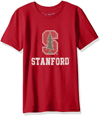 NCAA Stanford Cardinal Youth Boys Tee, Medium, Cardinal (Stanford Tee Cardinal)