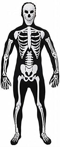 Halloween Kostuem Skelett Amazon.Halloween Kostum Herren Overall Leuchtet Im Dunkeln Skelett Amazon De Spielzeug