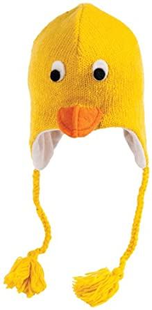 Knitting Pattern For Duck Hat : Amazon.com: Duck Hat: Novelty Knit Caps: Sports & Outdoors