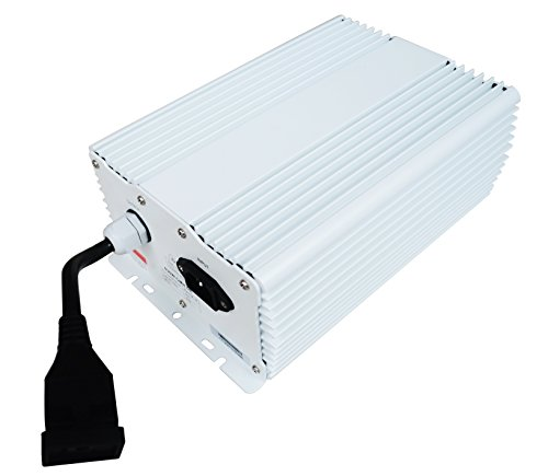Hydro Crunch C02A011402 630-Watt DE Ended Ceramic Metal Halide Digital Ballast, 630W CMH